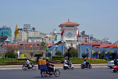 Ben Thanh Market, Saigon Vietnam Royalty Free Stock Image