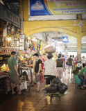Ben Thanh Market, Vietnam Stock Photo