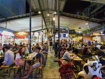 Ben Thanh-voedselmarkt in Ho Chi Minh City in Vietnam royalty-vrije stock foto