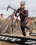 Ben Thompson  - Masters Cyclocross Racer Stock Photography