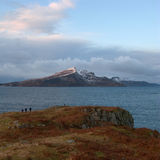 Ben Tianavaig, Isle of Skye, Scotland Royalty Free Stock Photo