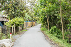 Ben Tre Province, Vietnam. Village road, Ben Tre Province, Vietnam. Bến Tre is a province of Vietnam. It is one of the country's southern provinces, being Royalty Free Stock Photo