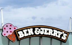 Ben und Jerrys lizenzfreie stockfotos
