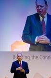 Ben Verwaayen a MWC 2012 Immagine Stock Libera da Diritti