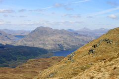 Ben Vorlich, Loch Sloy and Loch Lomond, Scotland Royalty Free Stock Photos