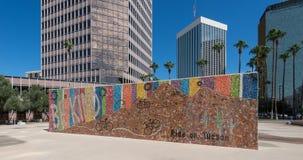 Ben Vriendelijke campagne in Tucson van de binnenstad stock foto's