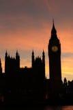 Ben Westminster Sunset grande, Imagenes de archivo