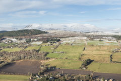 Ben Wyvis & the Braes of Strathpeffer. Stock Photography