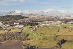 Ben Wyvis & the Braes of Strathpeffer in Scotland. Royalty Free Stock Photography