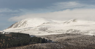 Ben Wyvis in the Highlands of Scotland. Royalty Free Stock Image