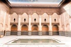 Ben Youssef Madrasa Fotografering för Bildbyråer