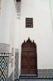 Ben Youssef Madrasa Arkivbild