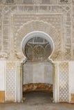 Ben Youssef Madrasa Arkivfoto