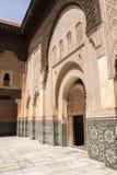 Ben Youssef Madrasa Royaltyfria Bilder