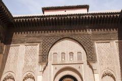 Ben Youssef Madrasa Royaltyfri Bild
