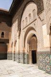 Ben Youssef Madrasa Royaltyfri Foto