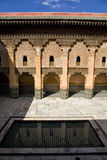 Ben Youssef Madrasa 8. The Ben Youssef Madrasa was an Islamic college in Marrakech and was named after the amoravid sultan Ali ibn Yusuf (reigned 1106–1142) Stock Image