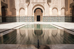 The Ben Youssef Madrasa Royalty Free Stock Image