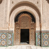 The Ben Youssef Madrasa Stock Image
