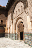 The Ben Youssef Madrasa Royalty Free Stock Images