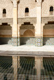 The Ben Youssef Madrasa Royalty Free Stock Photo
