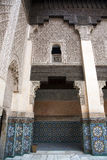 Ben Youssef Madrassa Royalty Free Stock Photos