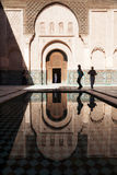 Ben Youssef Medersa in Marrakesh Royalty Free Stock Images