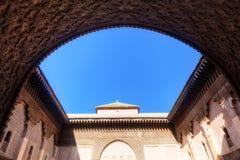 Ben Youssef Medersa in Marrakesh Royalty Free Stock Images