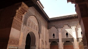 Ben Youssef Medersa - Morocco Royalty Free Stock Photography