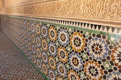 Ben Youssef Medrassa in Marrakech Royalty Free Stock Photo