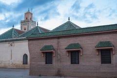 Ben Youssef Mosque, Marrakesh, Morocco Stock Photos