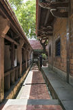 Ben-Yuan Lin's Family Mansion and Garden interior sight view  ,cloister detail view Royalty Free Stock Photography