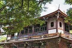 Ben-Yuan Lin's Family Mansion and Garden sight view Royalty Free Stock Photos