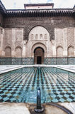 Ben Yussef Medersa at Marrakech, Morocco Royalty Free Stock Image