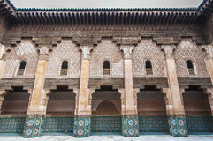 Ben Yussef Medersa at Marrakech, Morocco Royalty Free Stock Photos