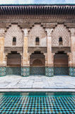 Ben Yussef Medersa at Marrakech, Morocco Royalty Free Stock Photography