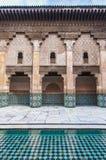 Ben Yussef Medersa at Marrakech, Morocco Royalty Free Stock Photography