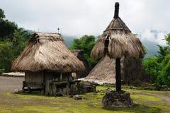 bena flores印度尼西亚村庄 库存图片