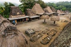 Bena Tradycyjna wioska Fotografia Stock