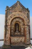 Bena ur kapellet i domkyrkaSe, den Faro, Algarve regionen, Portugal Arkivbilder