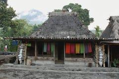 Bena village, Flores island Stock Images
