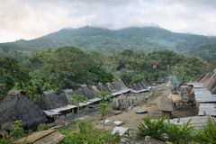 Bena village, Flores island Royalty Free Stock Image