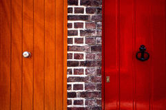 Benachbarte Tür Stockbild
