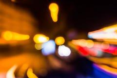 Benadering van abstract onduidelijk beeld van verlichting Royalty-vrije Stock Foto's