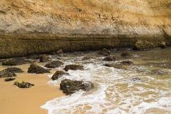 Benagil beach, Algarve, Portugal Royalty Free Stock Images