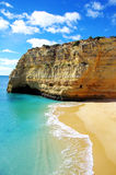 Benagil  beach, Algarve Royalty Free Stock Photos