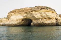 Benagil beach caves, Algarve, Portugal Stock Images