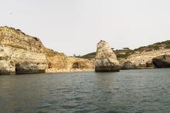 Benagil beach caves, Algarve, Portugal Stock Photo