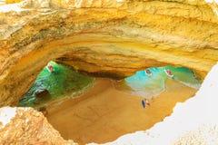 Benagil Cave boat trips Royalty Free Stock Photo