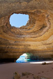 Benagil Hav-grottor Portugal Royaltyfria Bilder